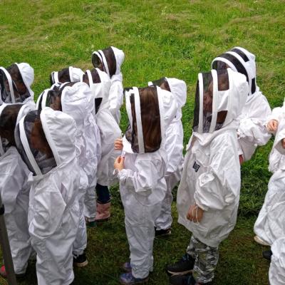 Ecole au rucher 2